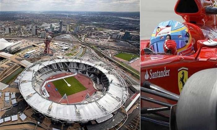 stad olimpic londra f1