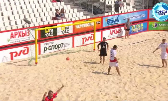 romania cehia fotbal pe plaja