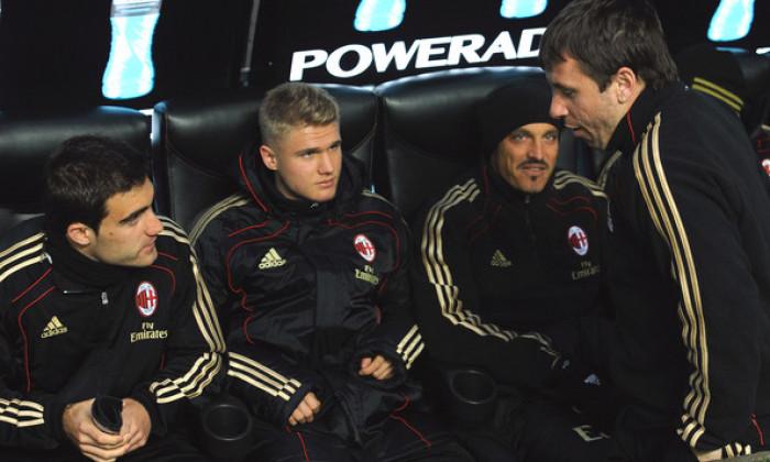 banca de rezerve AC Milan