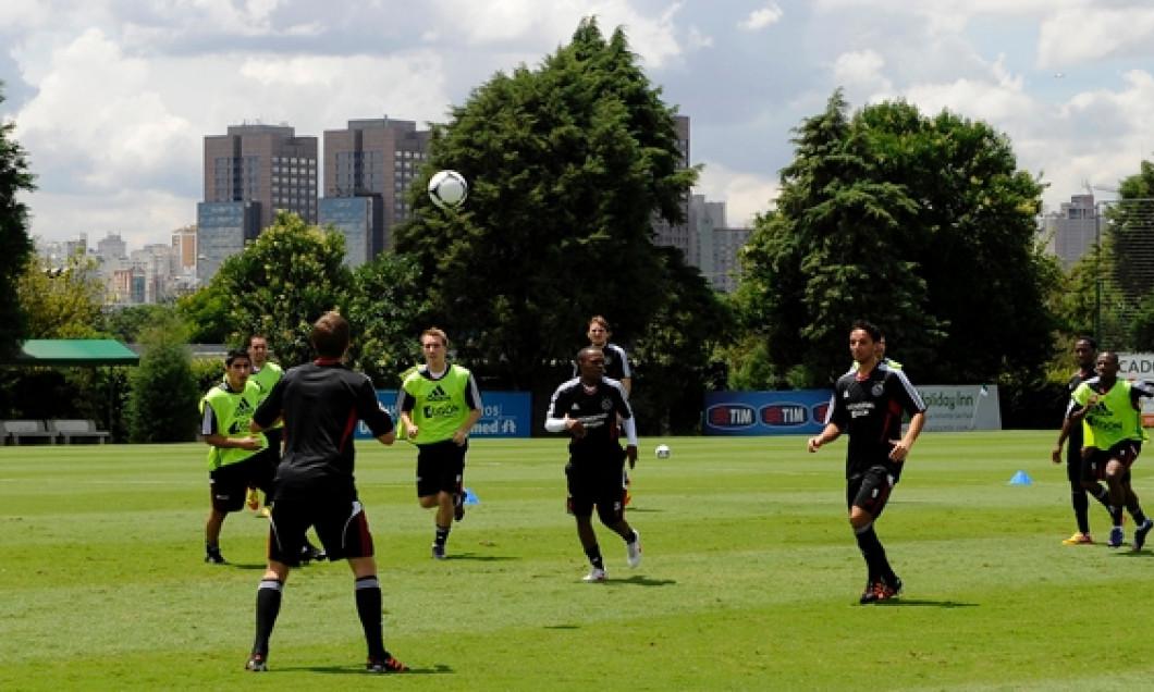 Ajax Amsterdam antrenament