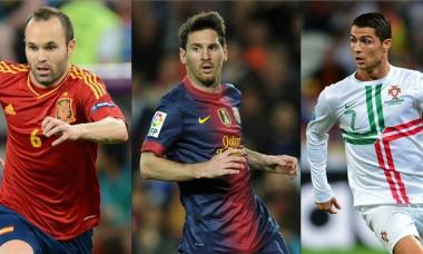 Messi Ronaldo Iniesta