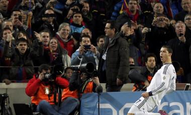 cristiano ronaldo bucurie gol barcelona real