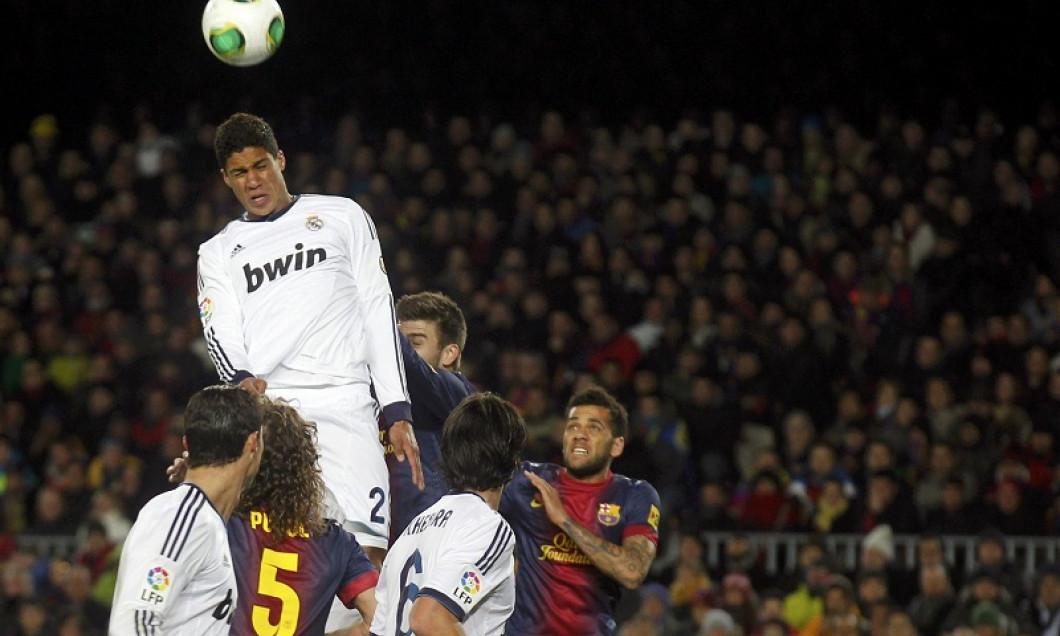 raphael varane gol barcelona real