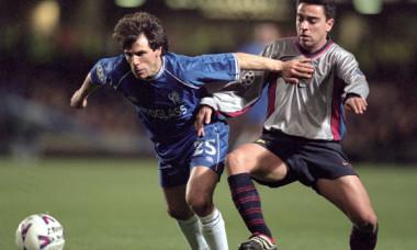zola xavi chelsea barcelona 1999 2000 guardian