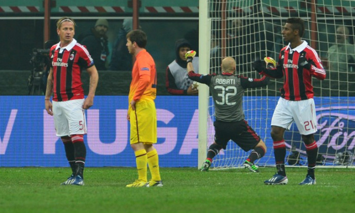 ac milan barcelona statistica champions league