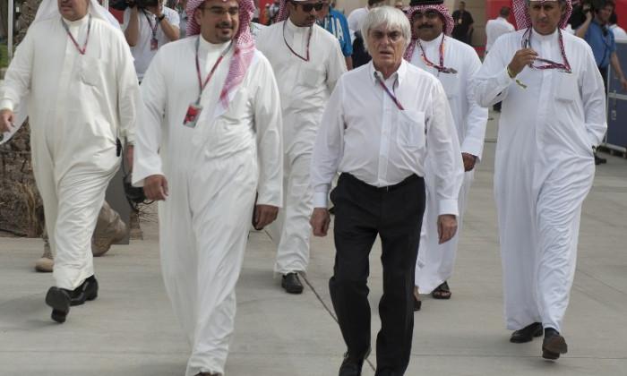 bernie ecclestone bahrain
