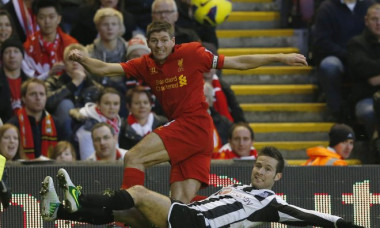 liverpool newcastle gerrard