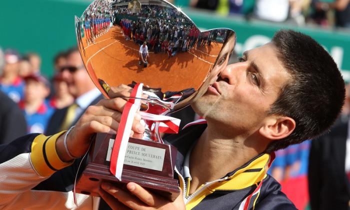 novak djokovic trofeu monte carlo 2013