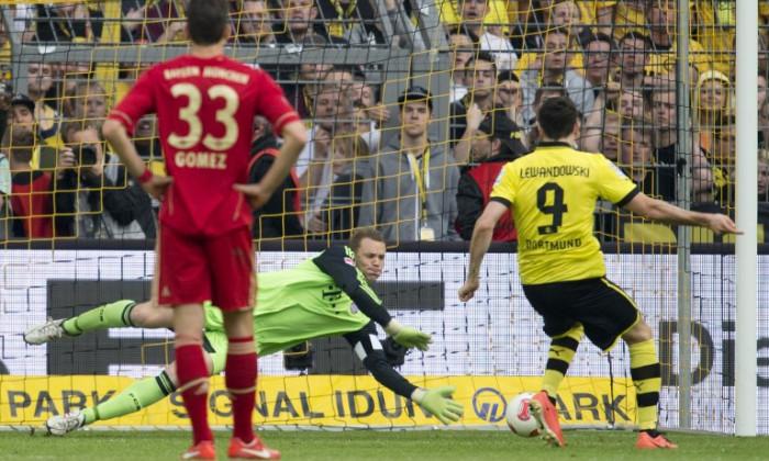 Borussia Bayern penalty