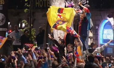 bucurie fani barcelona