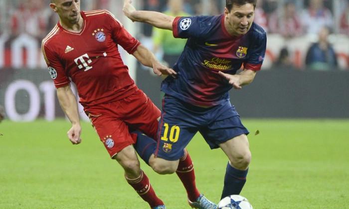 premiul UEFA Ribery Messi