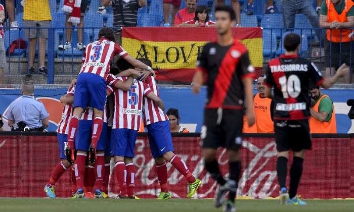 atletico madrid rayo 5-0