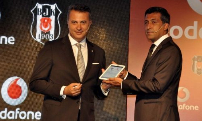 besiktas vodafone contract