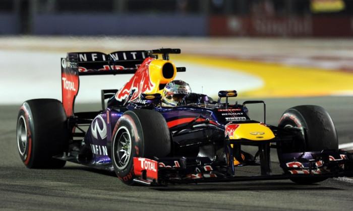 Vettel Singapore