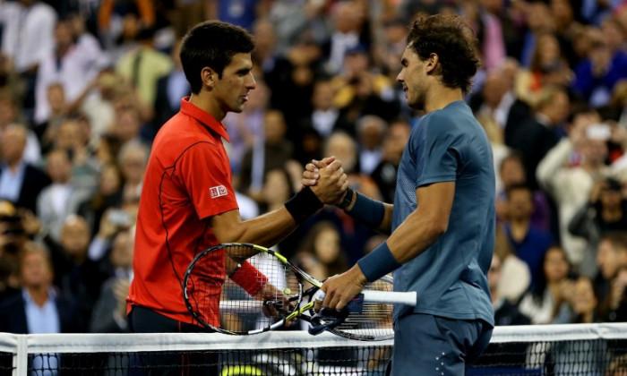 Djokovic Nadal us open