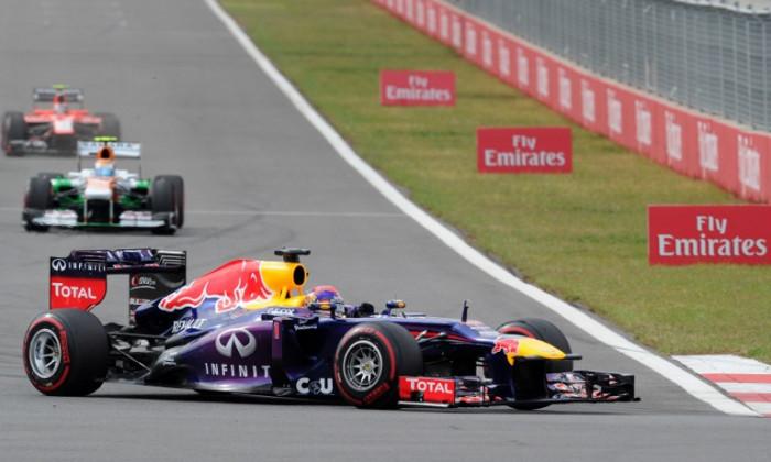 Vettel cursa