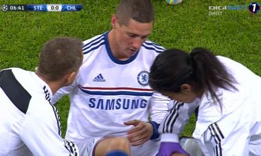 accidentare Fernando Torres