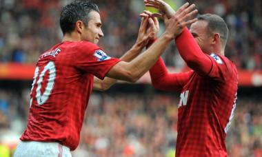 rooney van persie manchester united