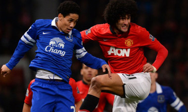 fellaini united everton