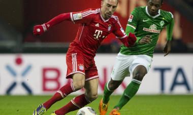 Ribery Werder Bayern