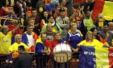suporteri romania handbal CM serbia