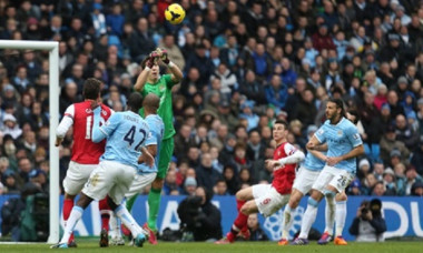 costel pantilimon manchester city - arsenal