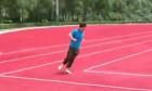 pista de alergare in colturi