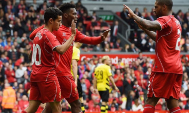 bucurie Liverpool