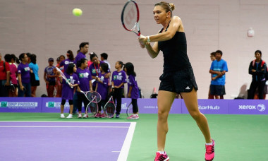 halep backhand