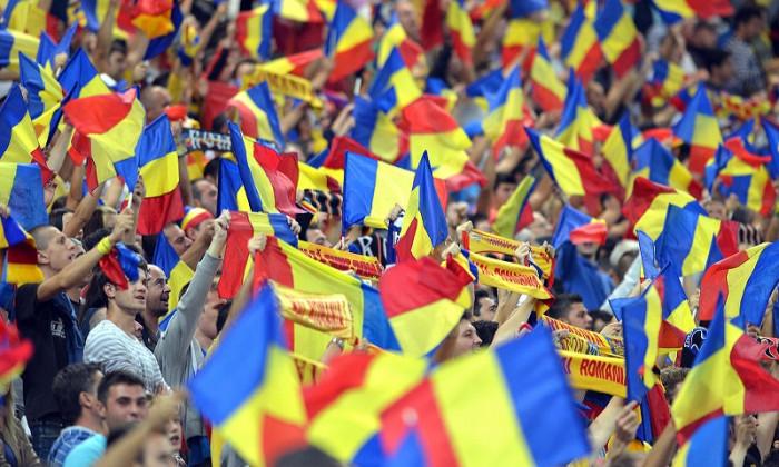 romania fani steaguri