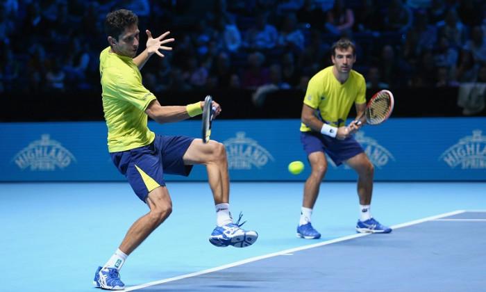tenis dublu spectacol