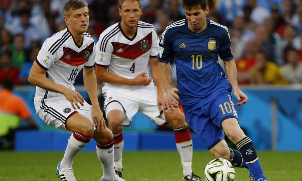 messi kroos argentina germania
