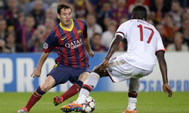 Messi Barcelona Milan