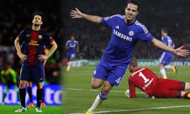 Cesc Fabregas Barcelona-Chelsea