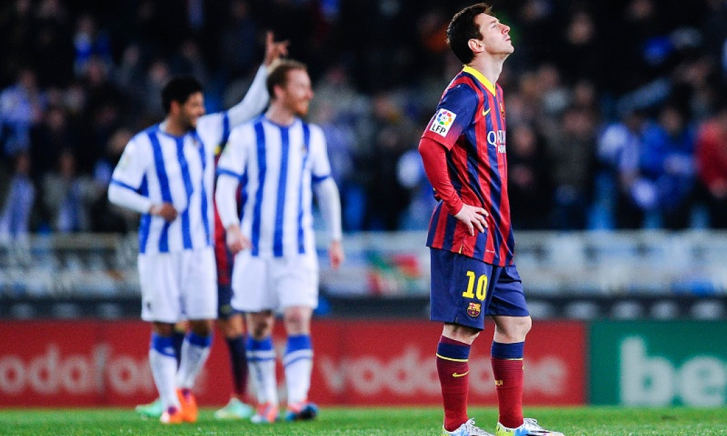 messi real sociedad - barcelona