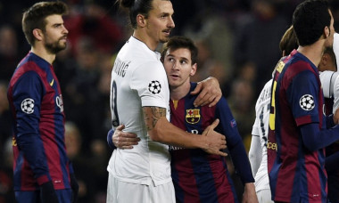 Ibrahimovic Messi