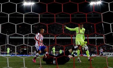 gol 2 neymar atletico - barcelona