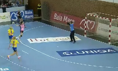captura handbal hcm brasov