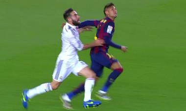 captura carvajal neymar