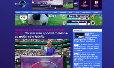 site digisport.ro cifre