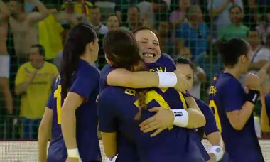 bucurie handbal Romania