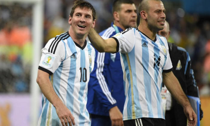 messi mascherano argentina