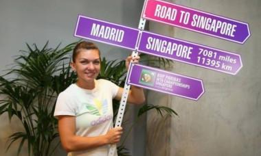 halep road to singapre