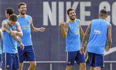 barcelona antrenament
