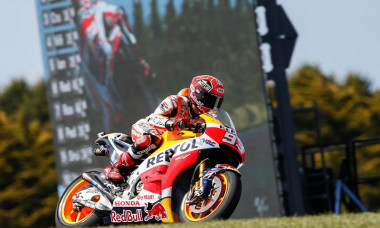 marquez pole position mp australia
