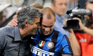 sneijder mourinho chelsea