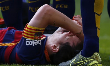 messi injury