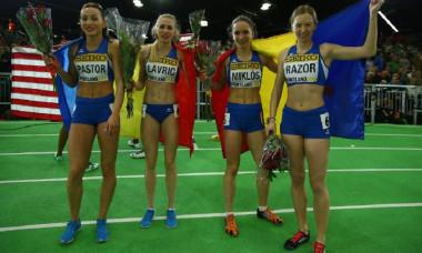 medalie romania 4x400m stafeta feminina