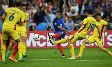 gol payet franta - romania 2-1