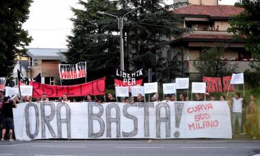 protest milan